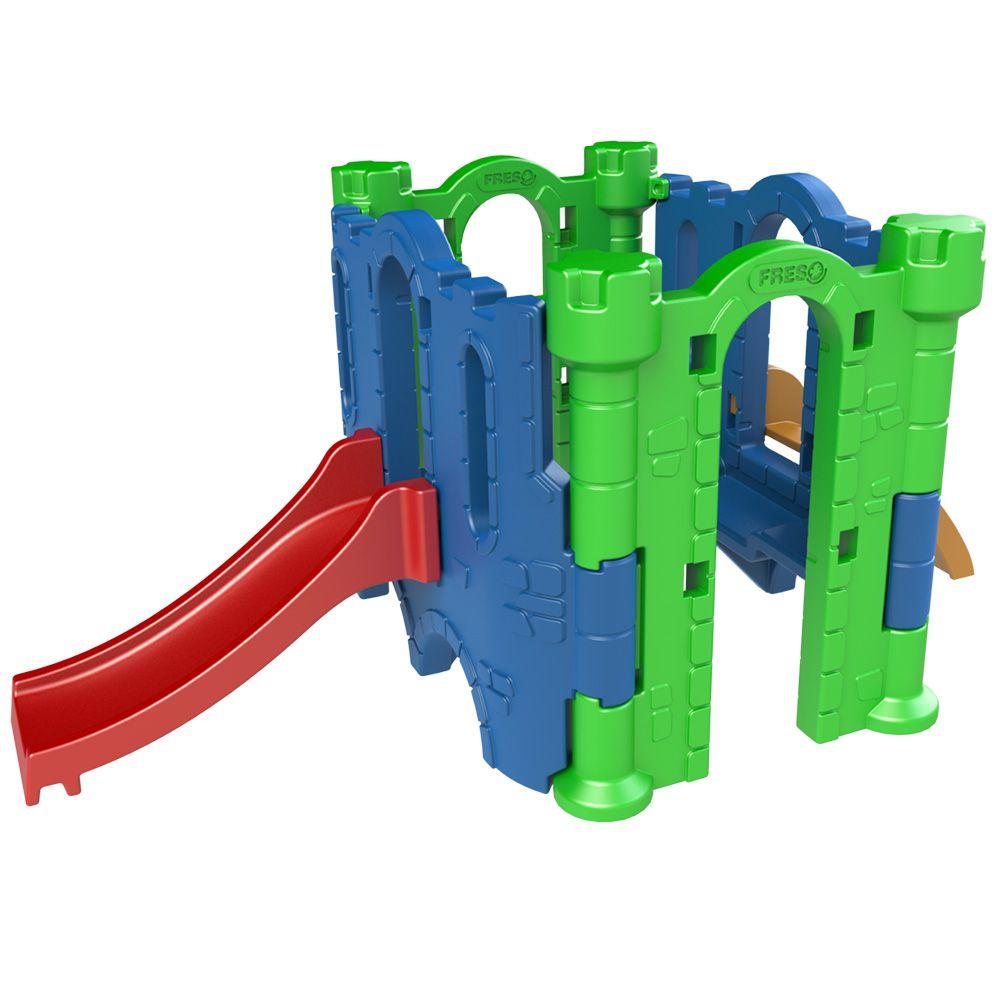 Playground Castelo Petit | 3m20 x 1m40 x 1m30 | 1 a 6 anos