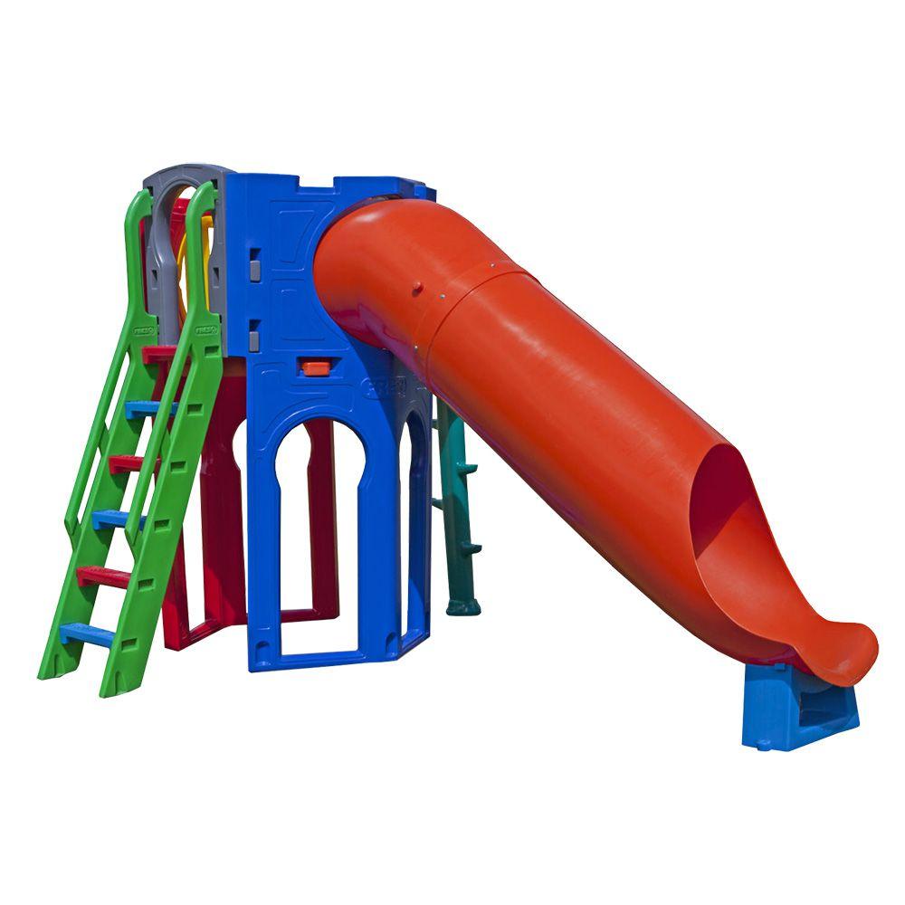 Playground Goldenplay | 5m10 x 2m30 x 2m20 | 1 a 12 anos