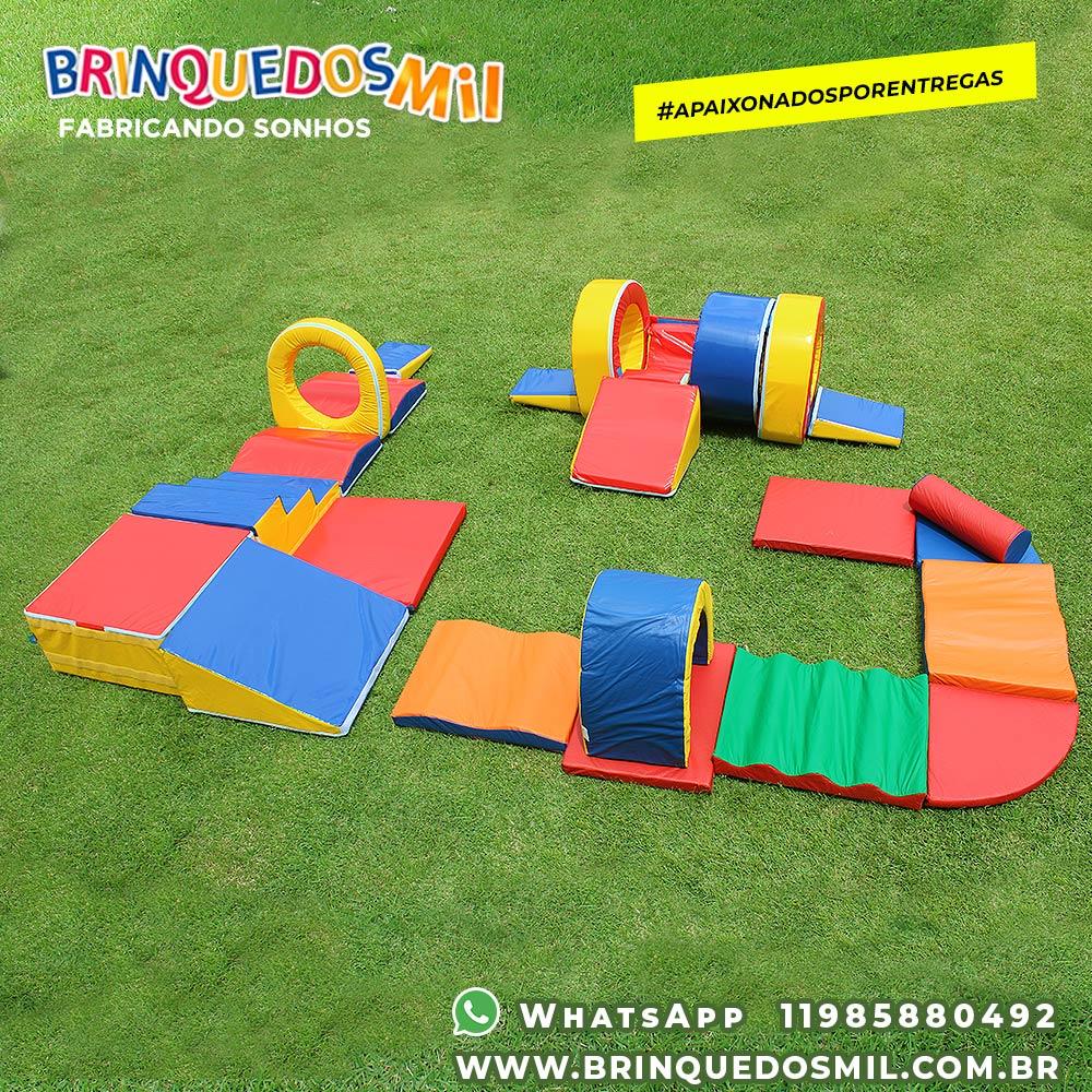 KIT Circuito Triplo 1 | Circuito Bebê 2 em 1 + Circuito 9 peças + Túnel 8 peças