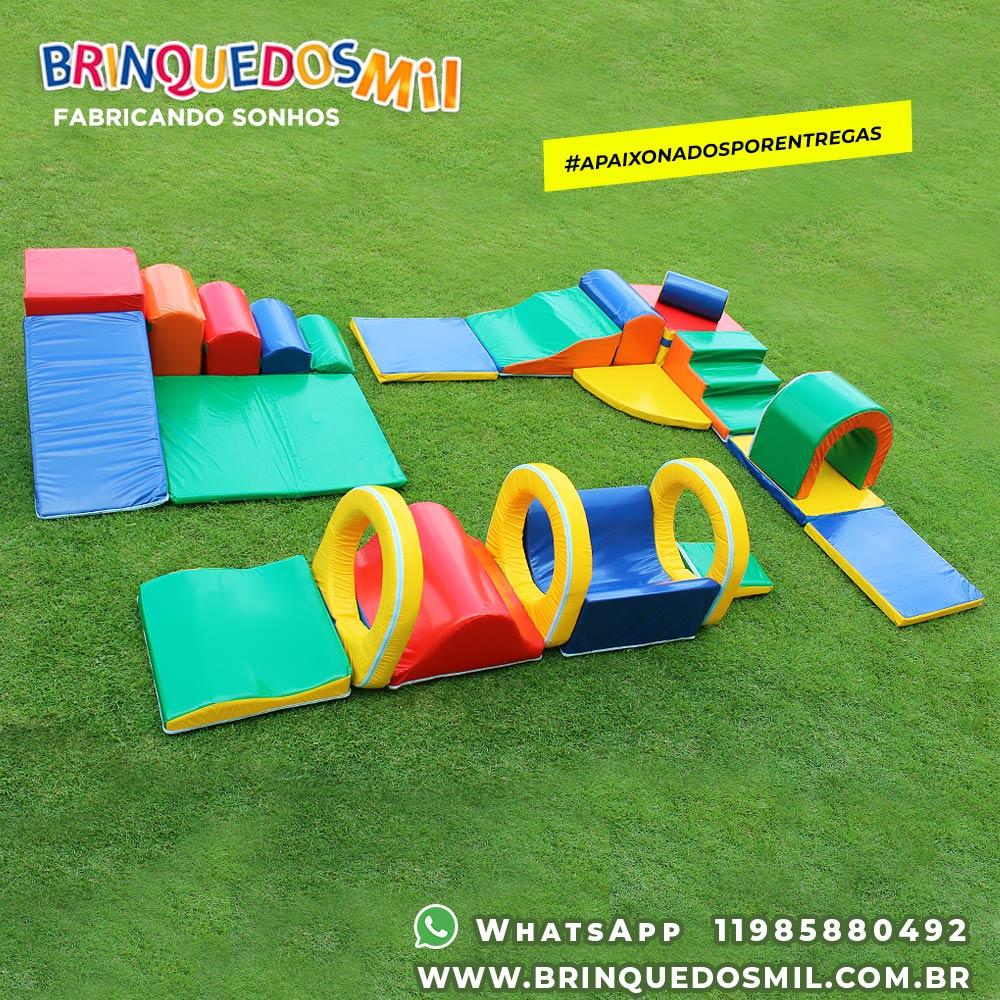 KIT Triplo 3 | Circuito 3 Túneis - 7 peças + Circuito Bebê 9 peças + Espumado 4 em 1 com 7 peças