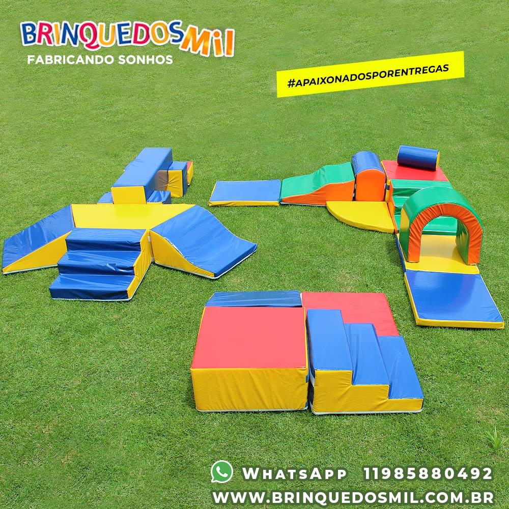 KIT Triplo 4 | Ponte com 3 Saídas 7 peças + Master Atividades 4 peças + Circuito Bebê 9 peças