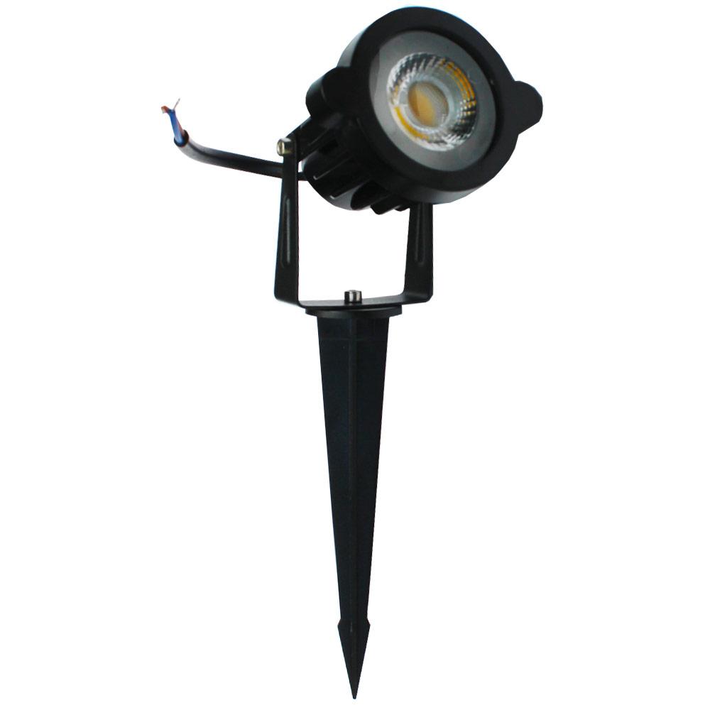 Luminária LED Espeto de Jardim 5W - 3000K - Branco Quente - Luz Sollar