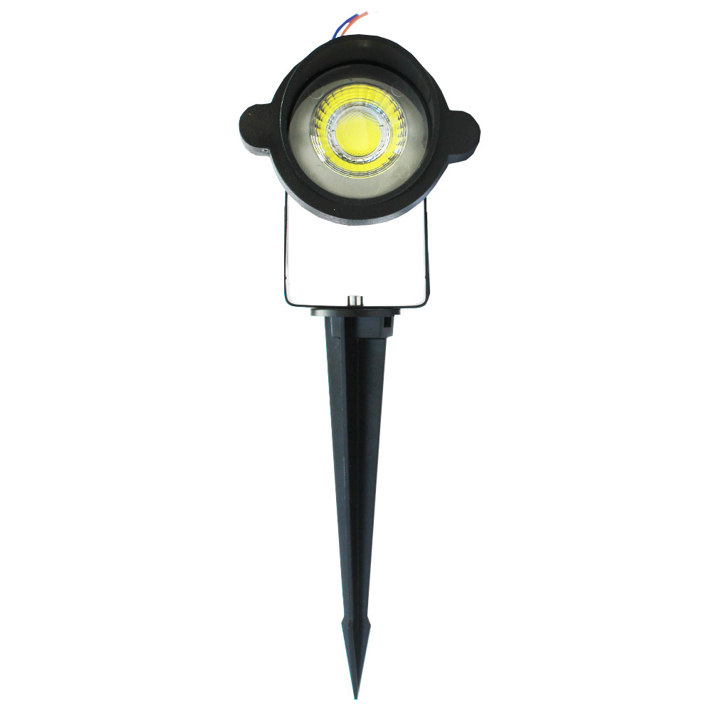 Luminária LED Espeto de Jardim 5W - 6500K - Branco Frio - CBC