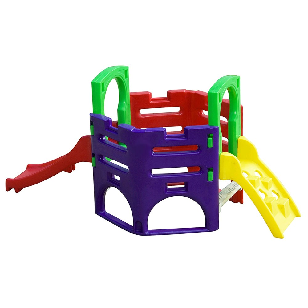 Playground Miniplay Festa   2m90 x 1m40 x 1m30   1 a 5 anos