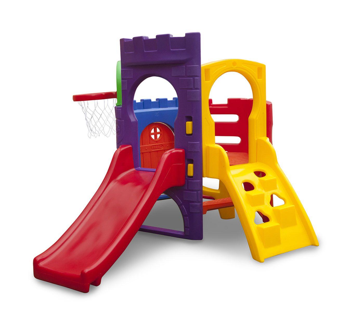 Playground Miniplay Petit | 2m75 x 1m85 x 1m48 | 1 a 5 anos