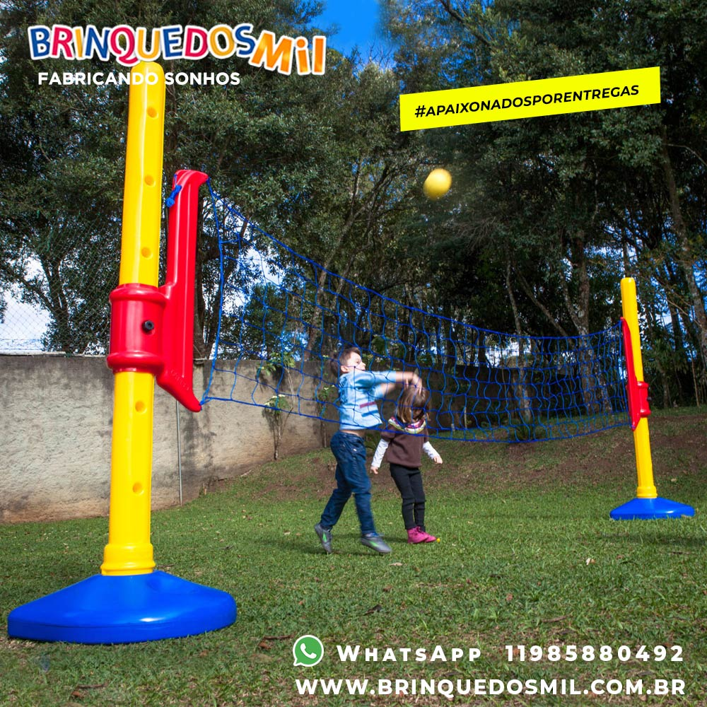 Rede Multi Esporte | 4m50 x 2m17 | 6 alturas reguláveis