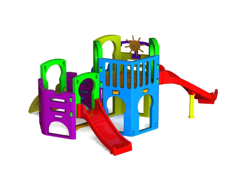 Playground Multiplay | 4m50 x 2m50 x 1m85 | 1 a 12 anos