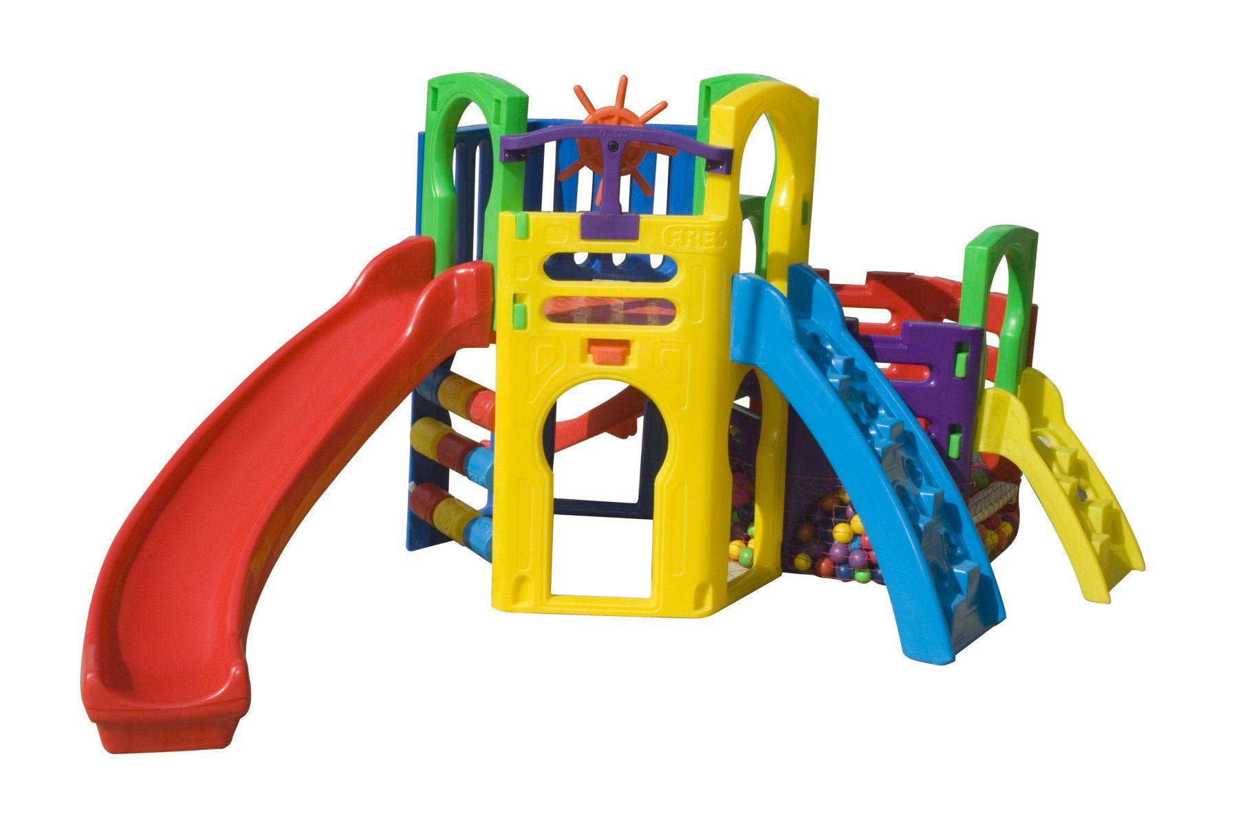 Playground Multiplay Festa | 4m50 x 2m50 x 1m85 | 1 a 12 anos