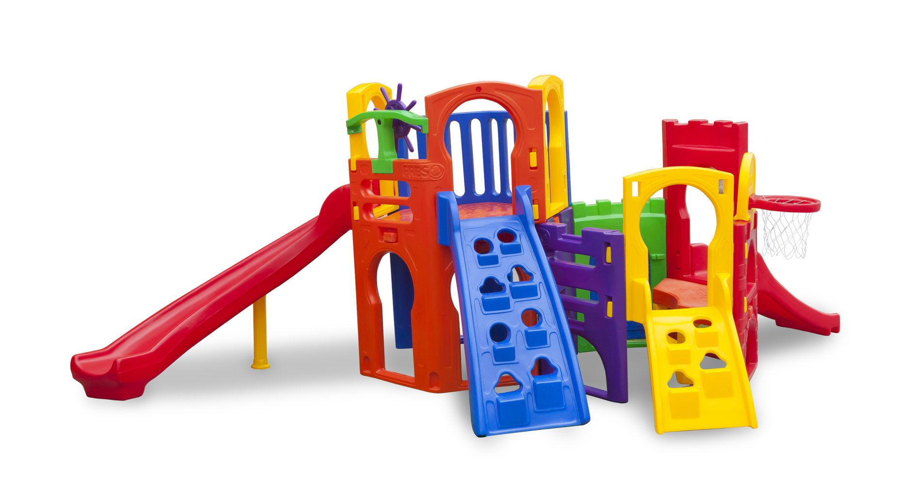 Playground Multiplay Petit | 4m50 x 3m05 x 1m85 | 2 a 12 anos