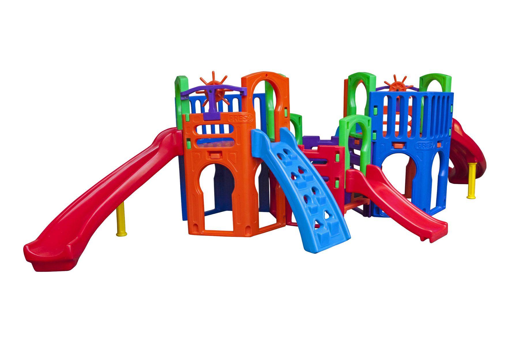 Playground Multiplay Plus | 6m20 x 3m20 x 1m85 | 1 a 12 anos