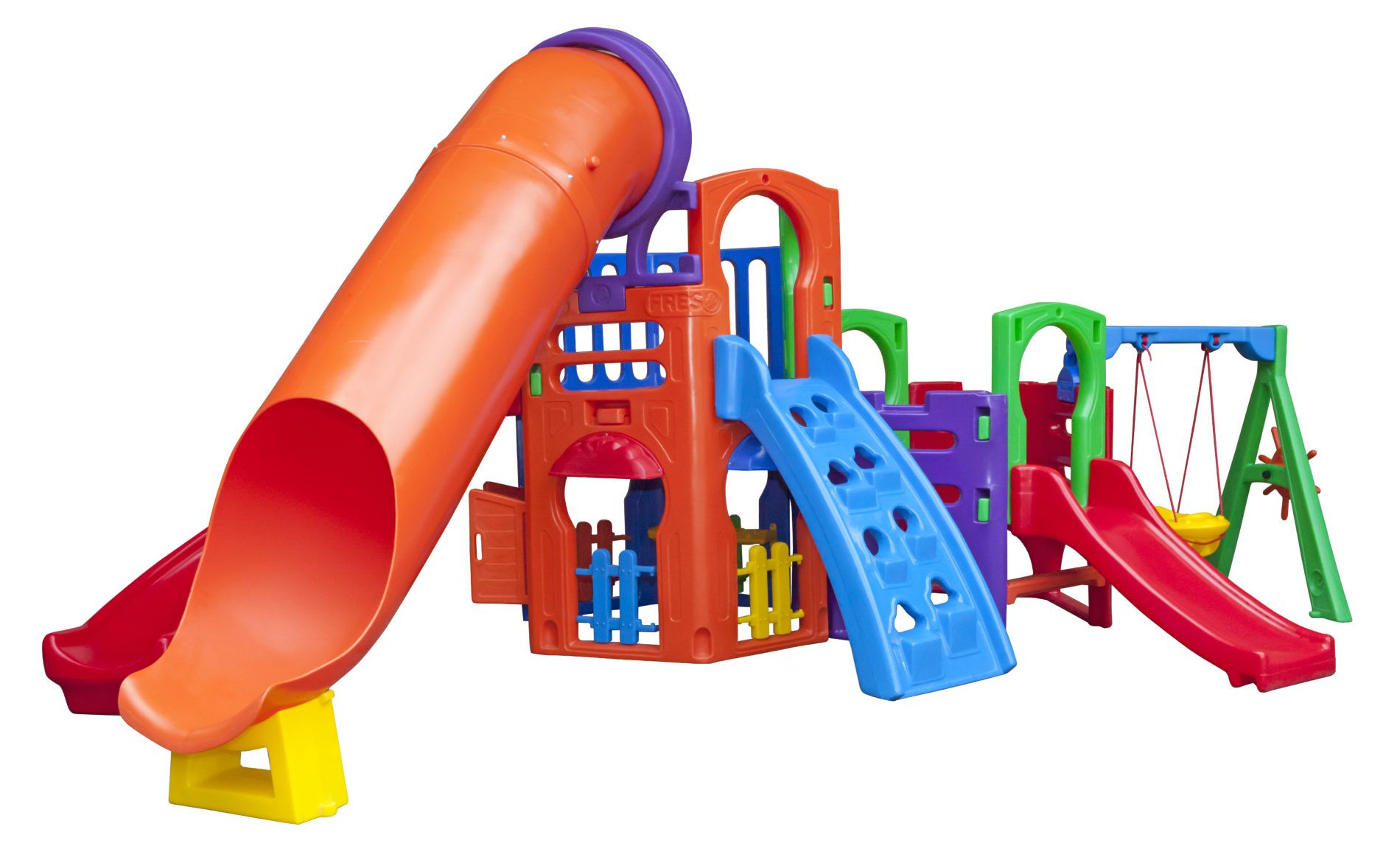 Playground Multiplay Top | 5m x 3m90 x 2m20 | 1 a 12 anos