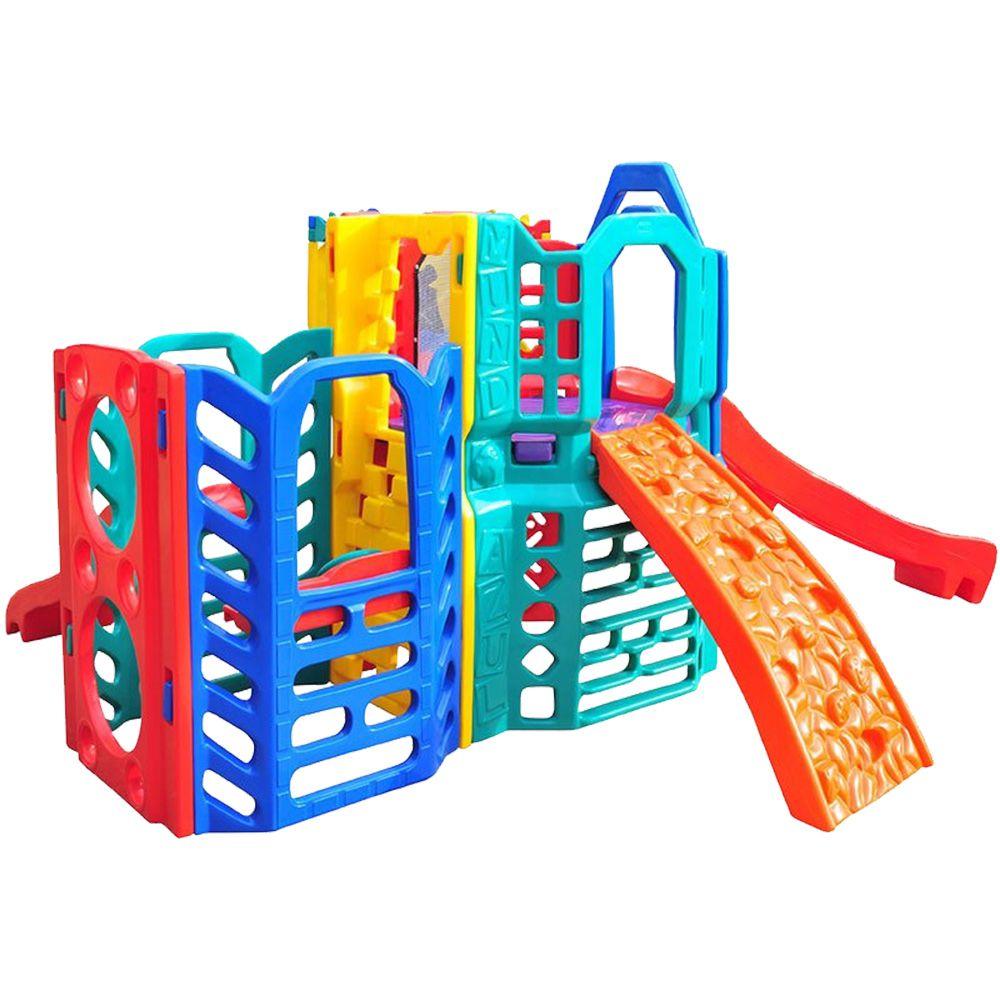 Playground Mundi Play | 3m54 x 2m95 x 1m97 | 1 a 12 anos
