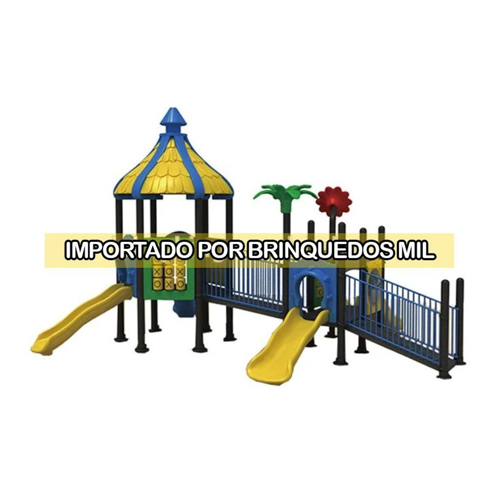 Playground para Cadeirantes | 13m50 x 6m80 x 3m | 1 a 12 anos