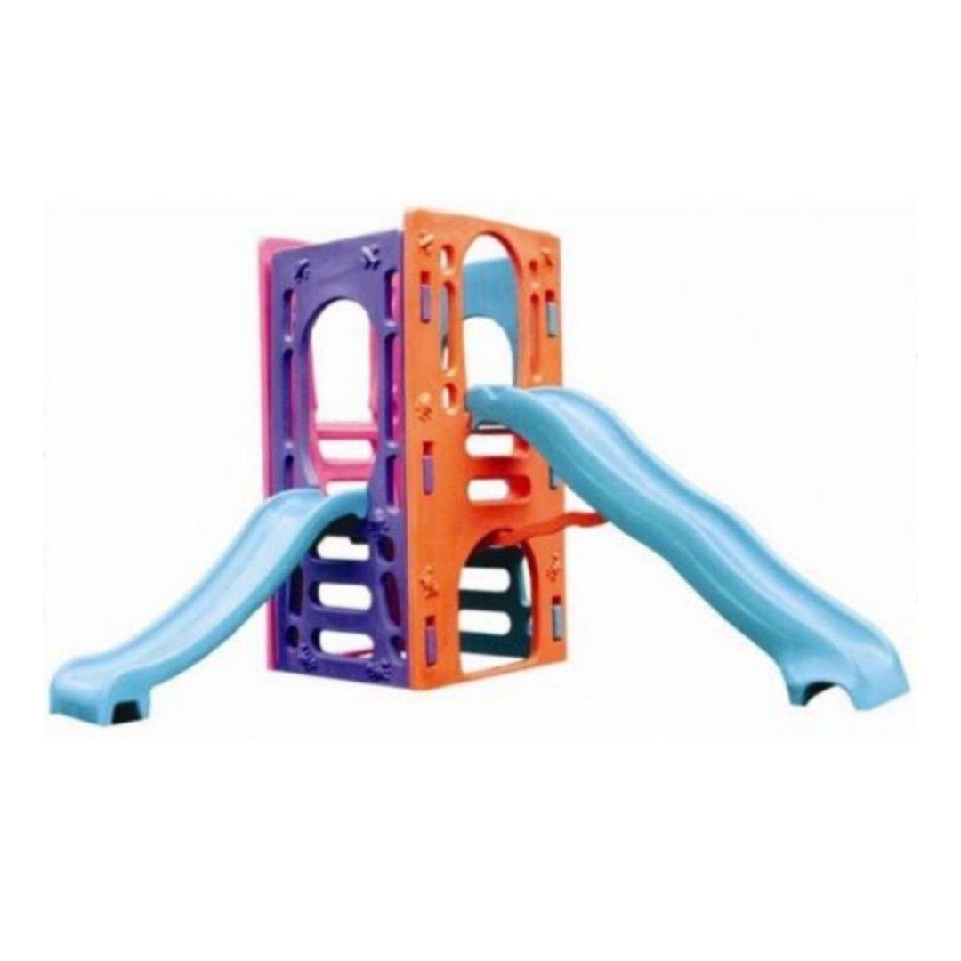 Playground Multy Kids | 2m10 x 1m80 x 2m55 | 1 a 9 anos
