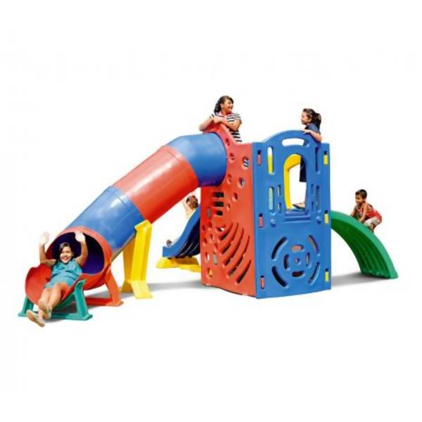 Playground Adventure | 5m90 x 3m92 x 2m50 | 1 a 12 anos