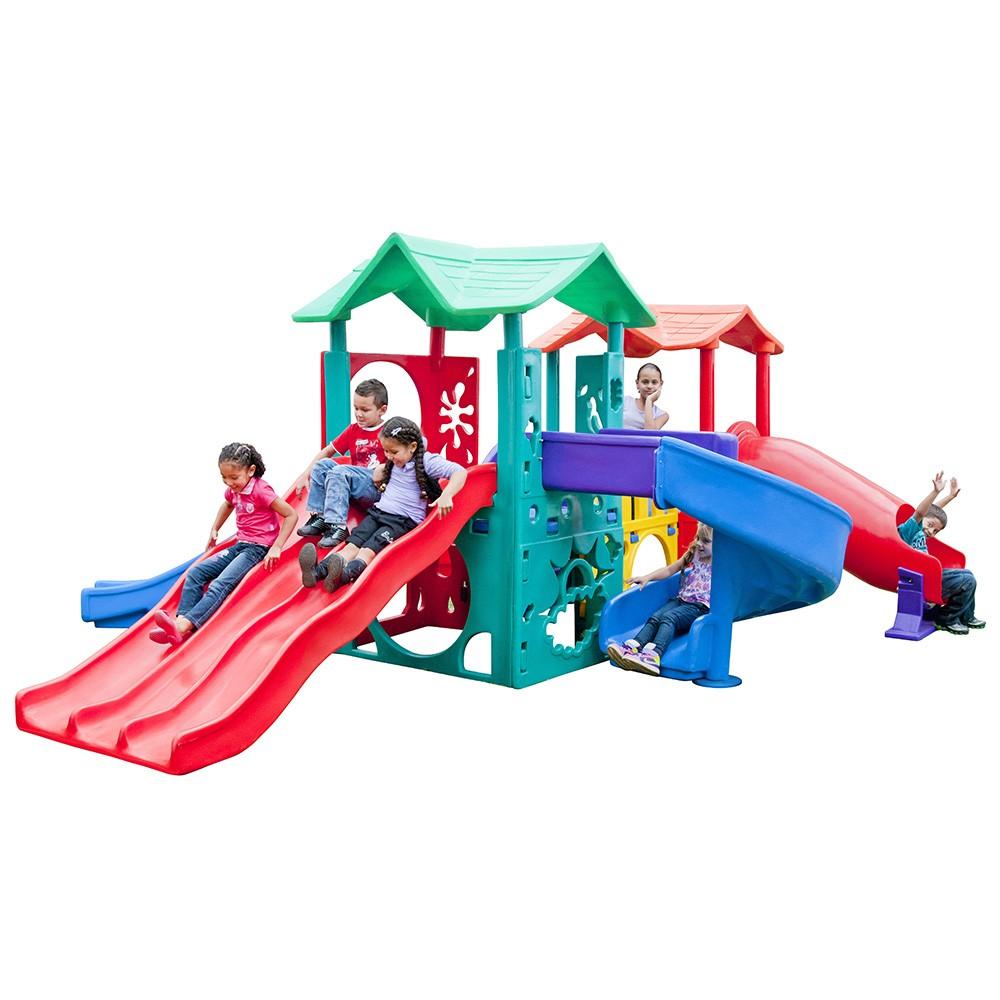 Playground Climber Funny   6m05 x 4m53 x 2m18   2 a 9 anos