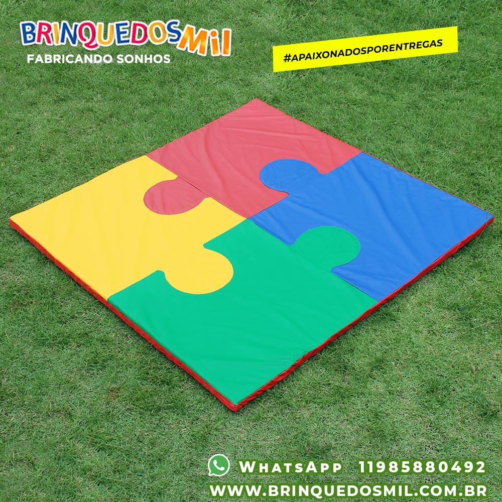 Tapete Puzzle | 1m40 x 1m40 x 4cm