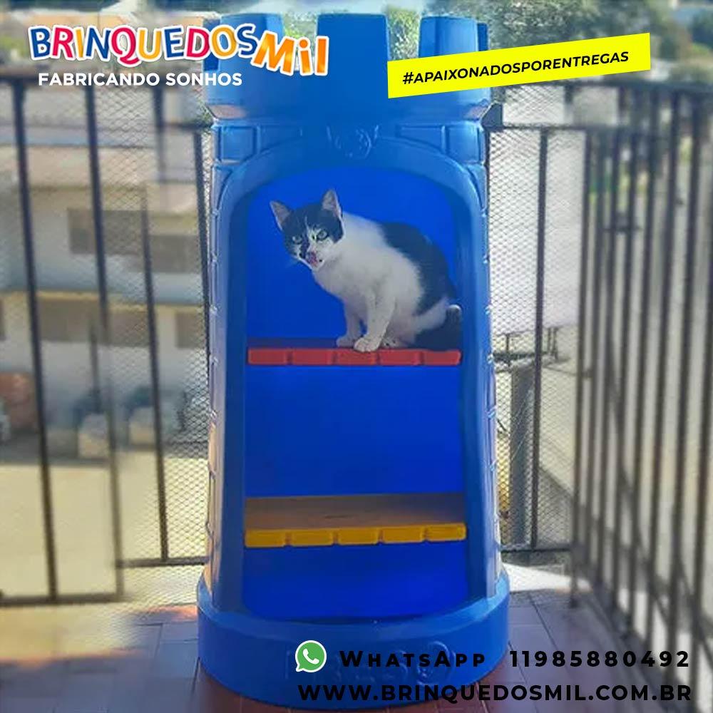 Toca Castelinho Pet | 1m10 x 57cm x 32cm