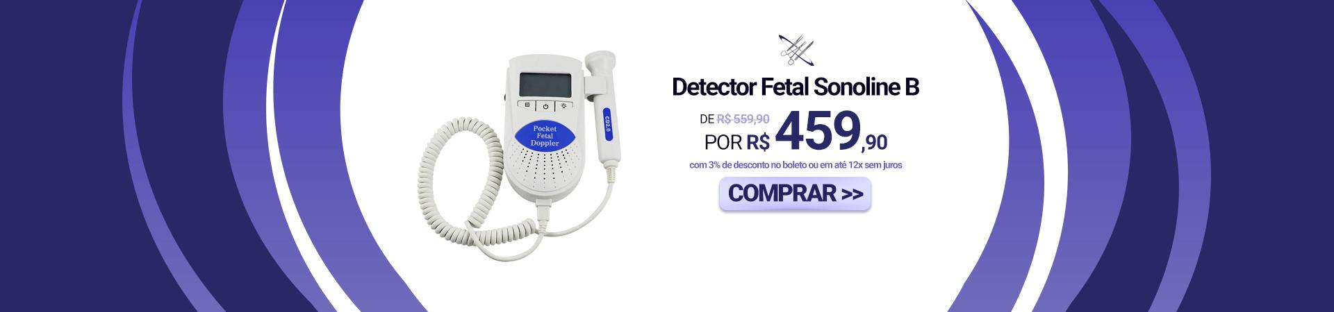 Detector Fetal Sonoline B
