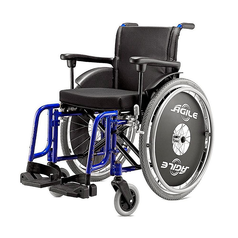 Cadeira de Rodas para 120Kg Jaguaribe