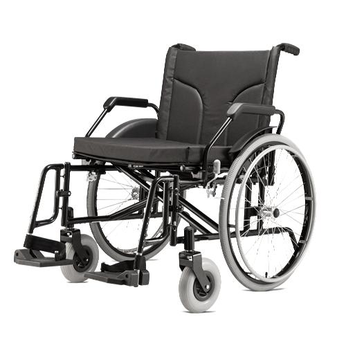 Cadeira de Rodas para 160Kg Jaguaribe