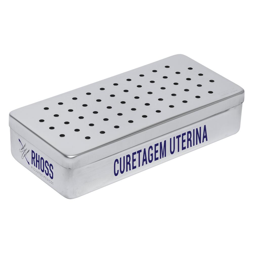 Caixa para Curetagem Uterina