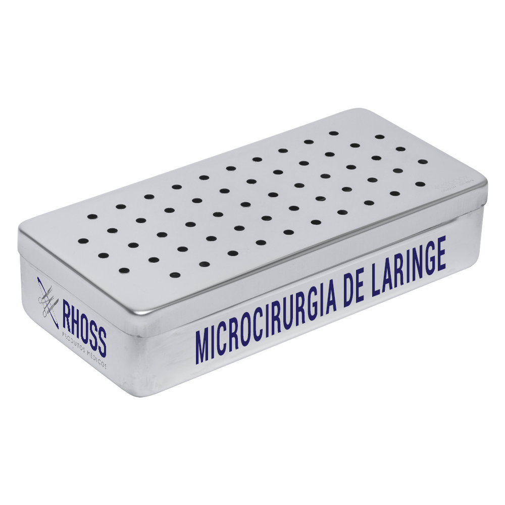 Caixa para Microcirurgia de Laringe