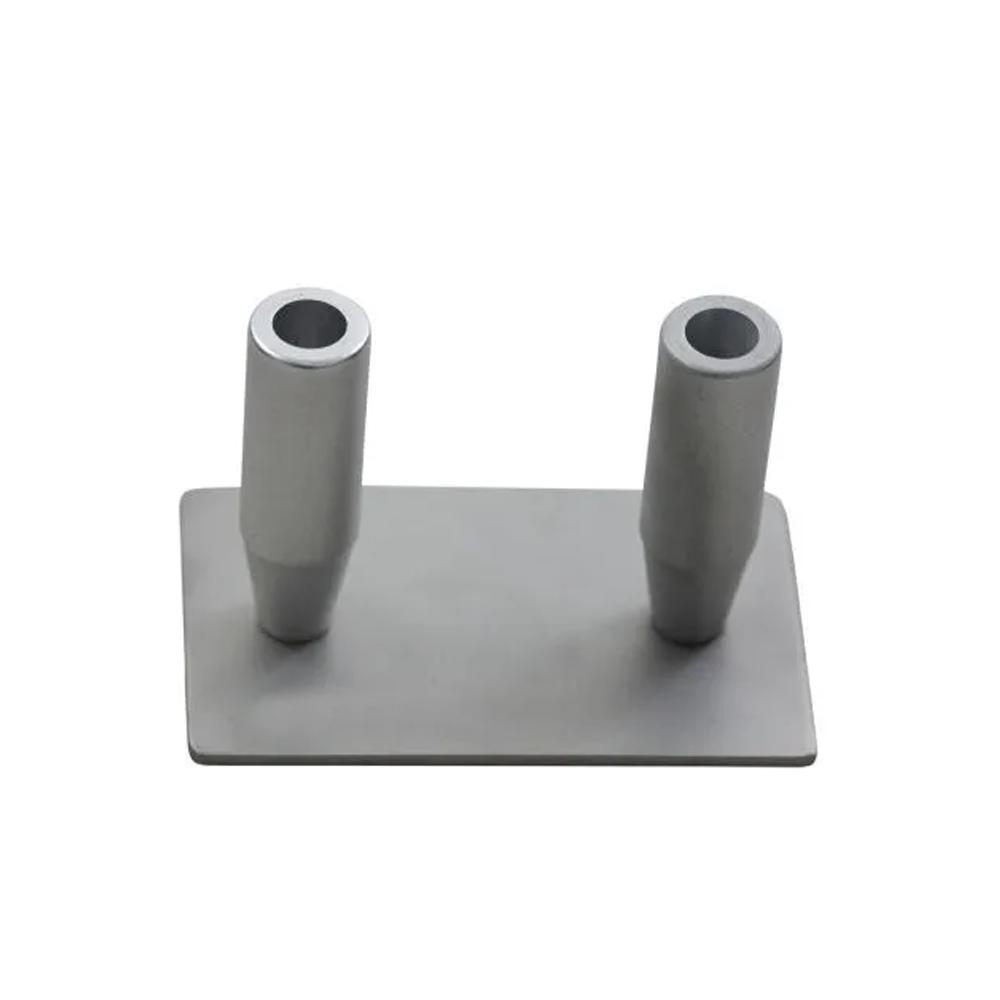 Decantador de gordura para seringa de 60 mL duplo