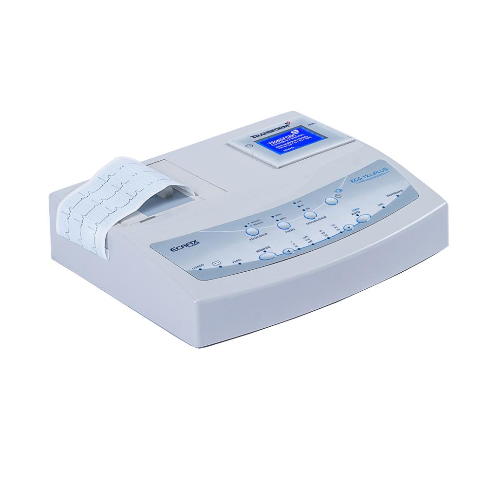 Eletrocardiógrafo ECG-12S Plus