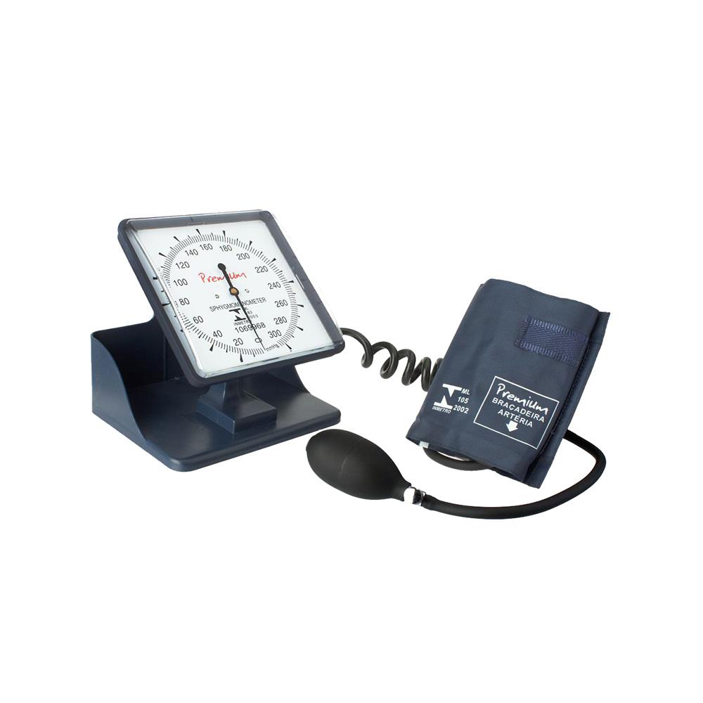 Esfigmomanômetro Hospitalar de Mesa ou Parede Premium