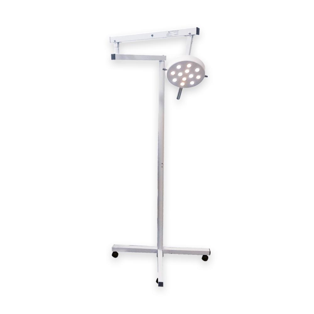 Foco Cirúrgico Bicolor em pedestal com 12 LEDs DL4000