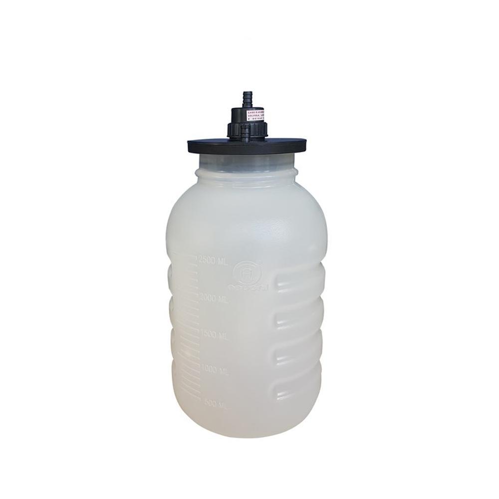 Frasco de plástico de 3,25 litros para aspirador