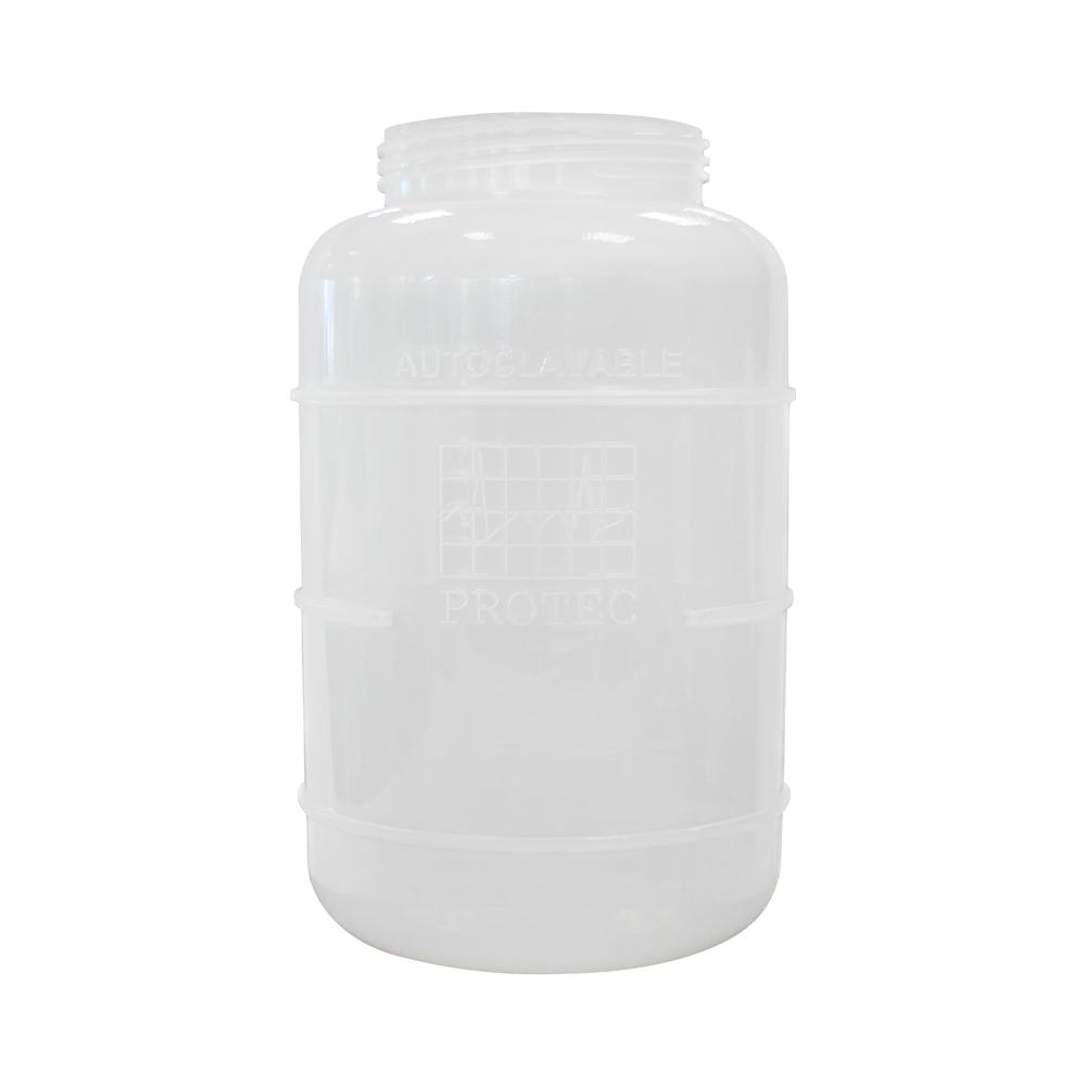 Frasco de plástico de 3 litros autoclavável