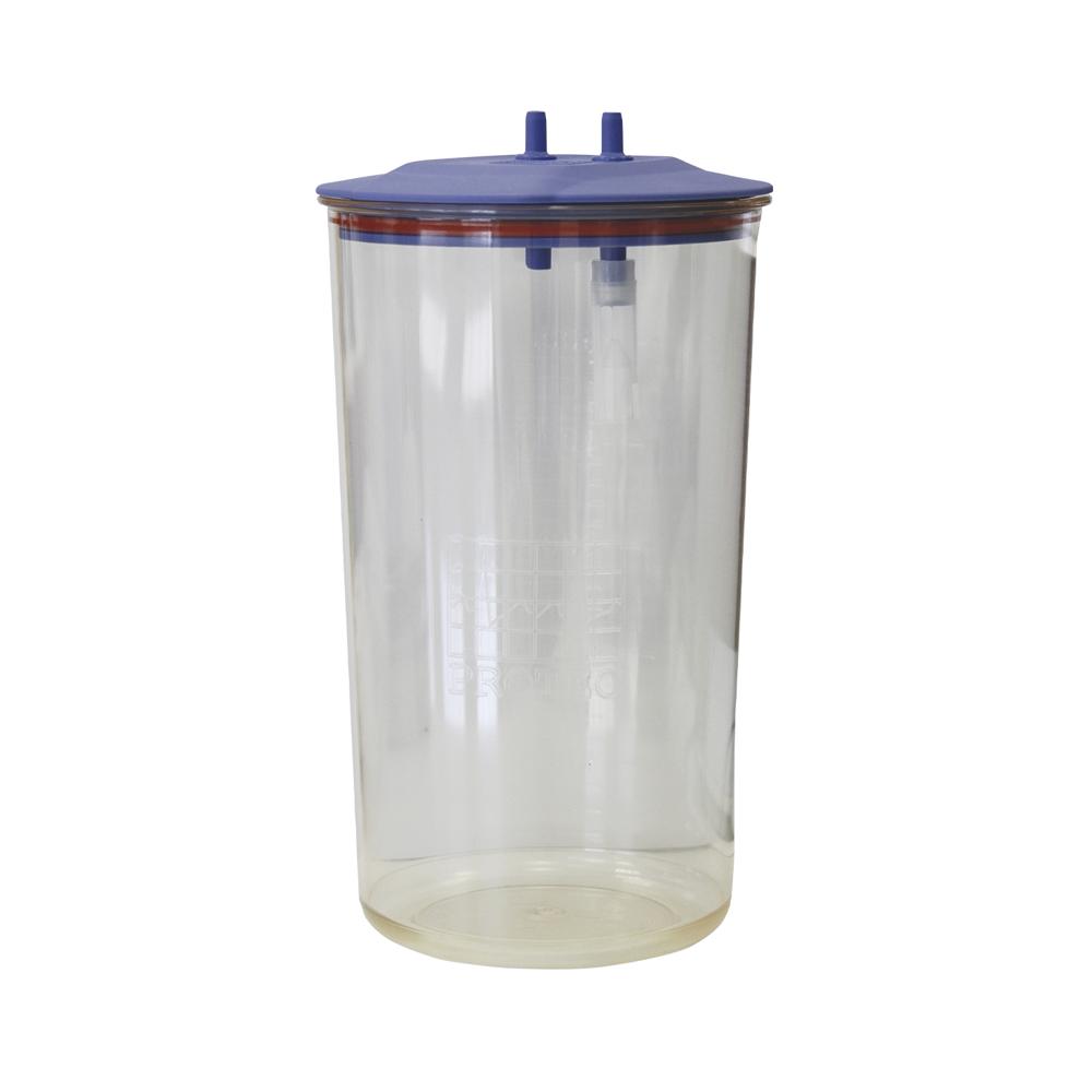 Frasco de plástico de 5 litros autoclavável