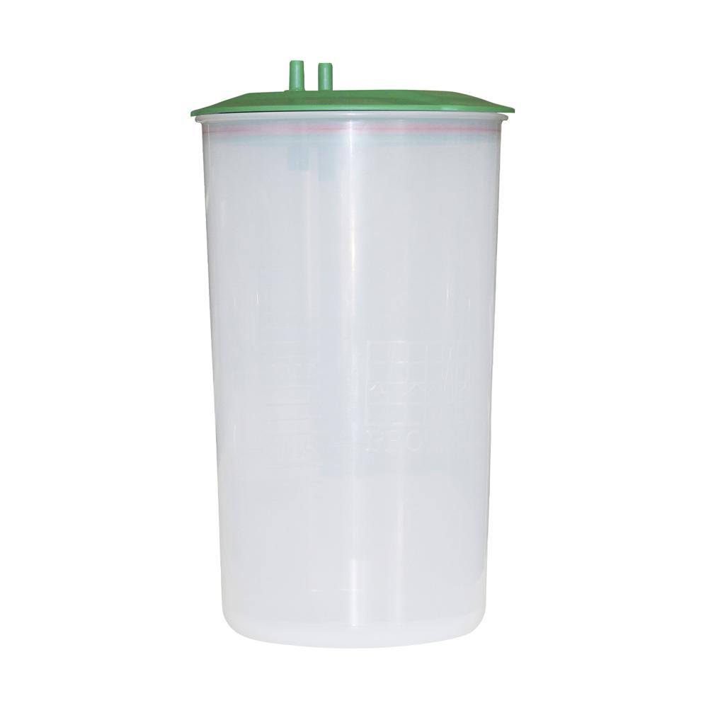 Frasco de plástico de 5 litros autoclavável Standard