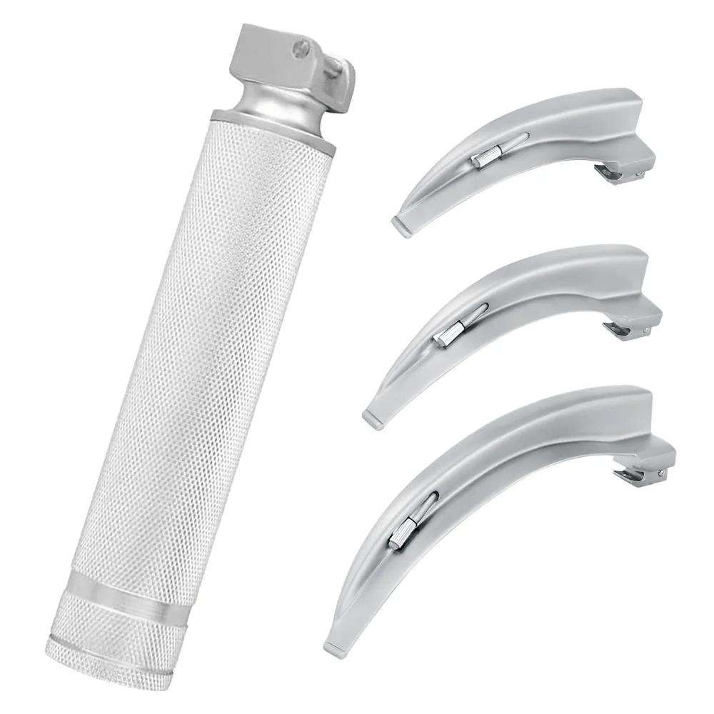Laringoscópio com 3 Lâminas de Fibra Óptica MD