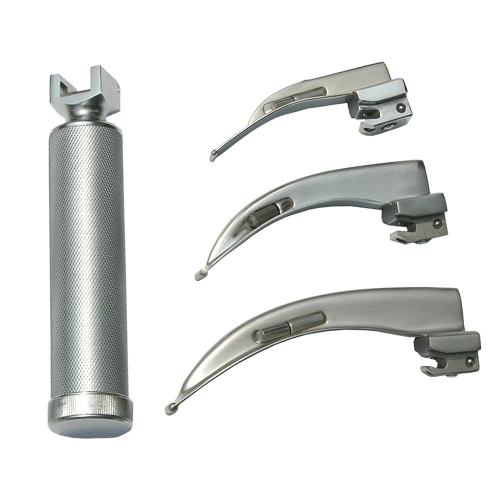 Laringoscópio com 3 Lâminas Stark