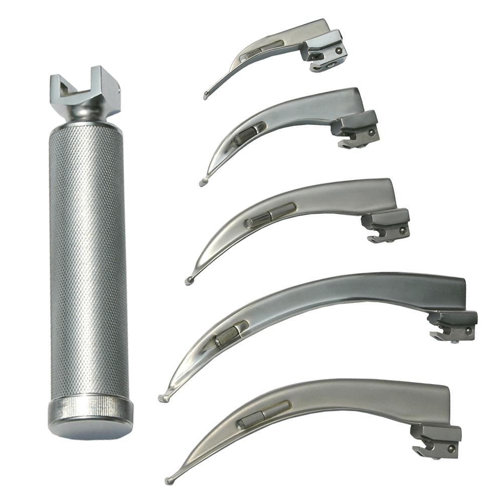Laringoscópio com 5 Lâminas Stark