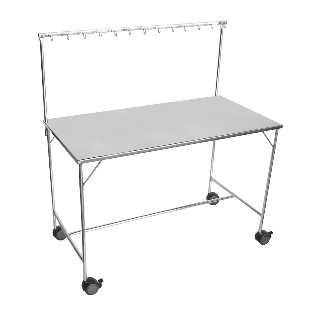 Mesa para Instrumentação em Inóx