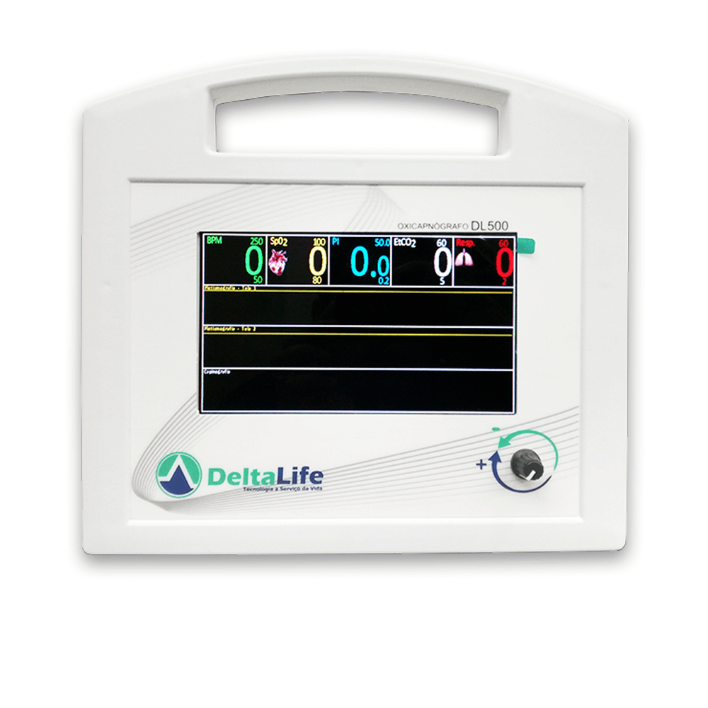 Oxicapnógrafo DL500