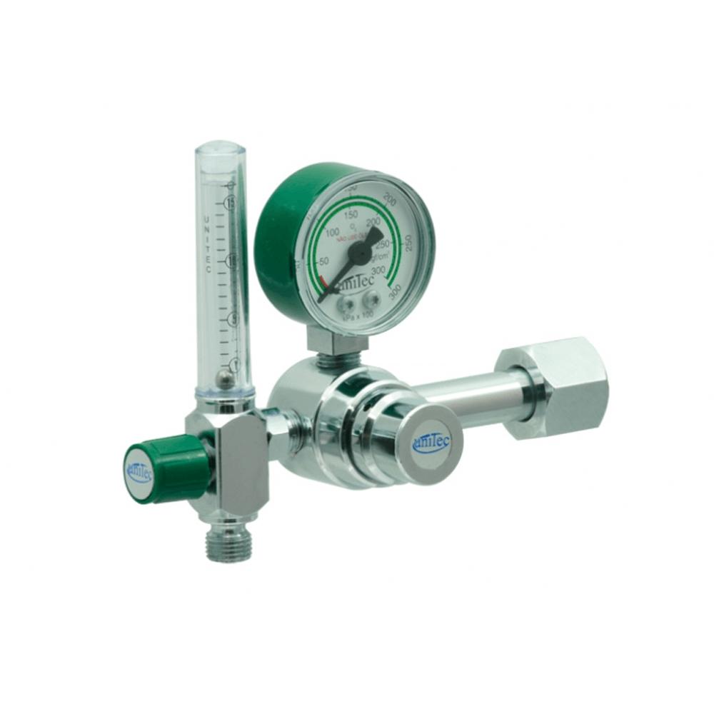 Válvula Reguladora para Cilindro com Fluxômetro