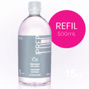 Antisséptico vòlia higiene preparador refil 500ml