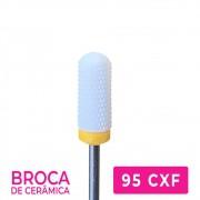 Broca cerâmica 95CXF para micromotor e lixadeira