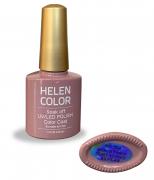 Esmalte em gel Helen Color 10ml - nude roxo #50