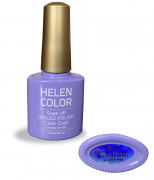 Esmalte em gel Helen Color 10ml - roxo claro #88