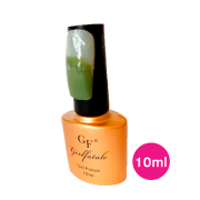 Esmalte em gel verde musgo uv/led - girl fatale 10ml #gf048