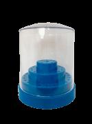 Expositor porta brocas para 48 brocas Cor: Azul