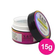 Gel para unhas - X&D de 15G CHAMELEON 002 Diamante Gel Construtor (alongamento) UV/LED