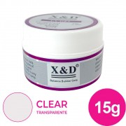 Gel para unhas - X&D de 15G transparente gel construtor (alongamento) uv/led