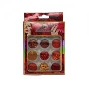 Glitter Red BR011